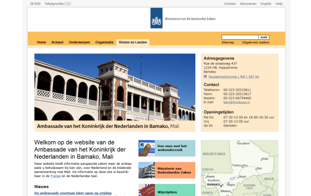 Dutch Government Online